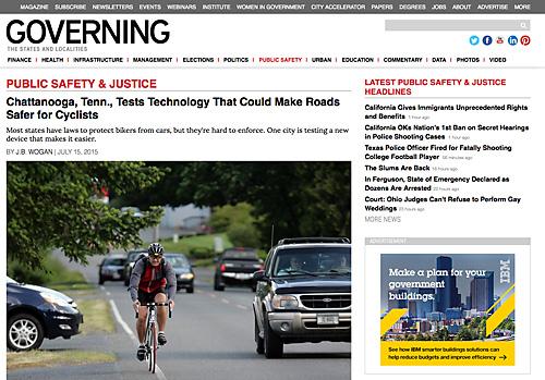 Sicherheitsrisiko: Abstand zu Radfahrern