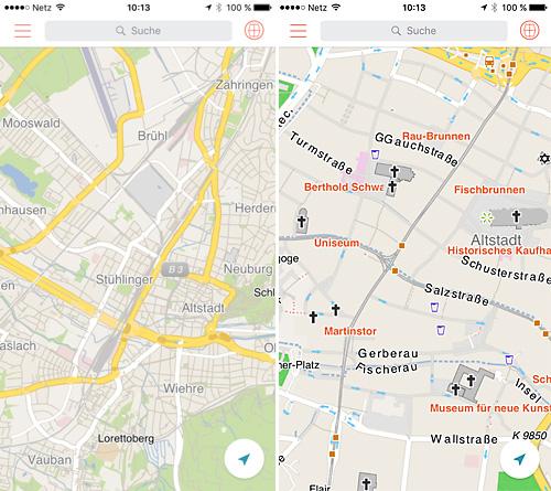 Offline-Navigation fürs handy