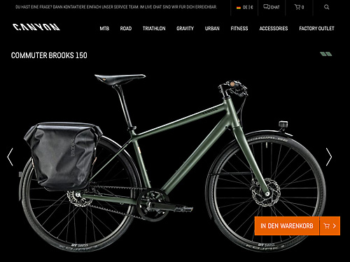 Canyon Commuter Brooks 150
