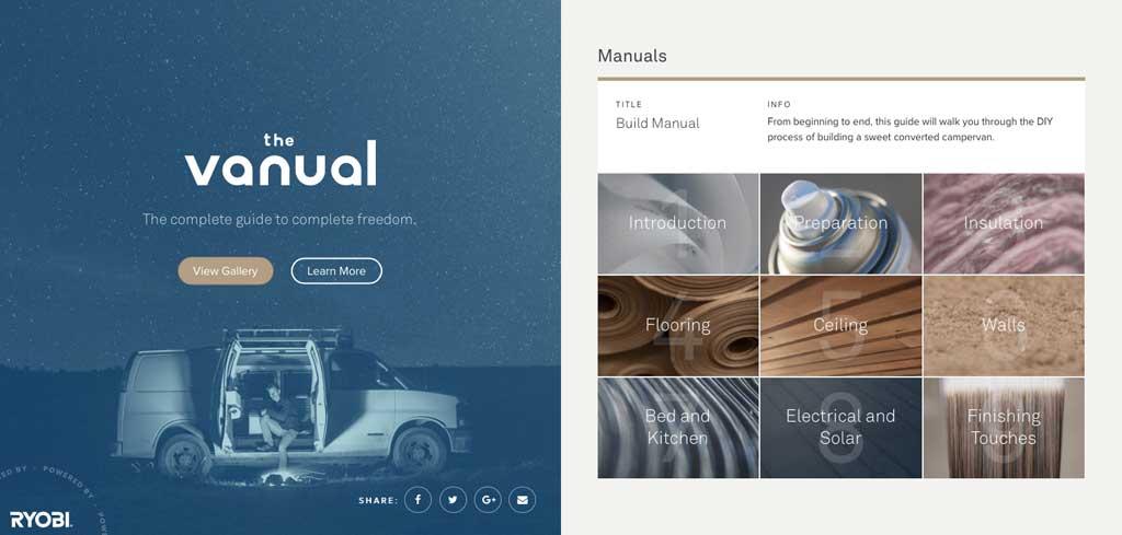 Camper-Handbuch digital: The Vanual