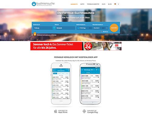 busliniensuche.de - Alle Infos zu Fernbussen, gibts auch als App.