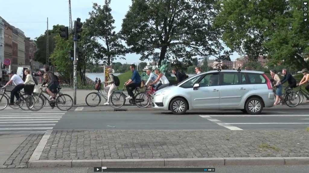 Lehrstück Fahrrad-Sicherheit am Beispiel Kopenhagen