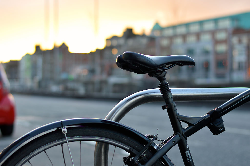 Fahrradfahren in der Stadt: ein Indiz für gute Lebensqualität.