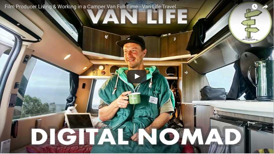 Campervan: leben und arbeiten im Bus