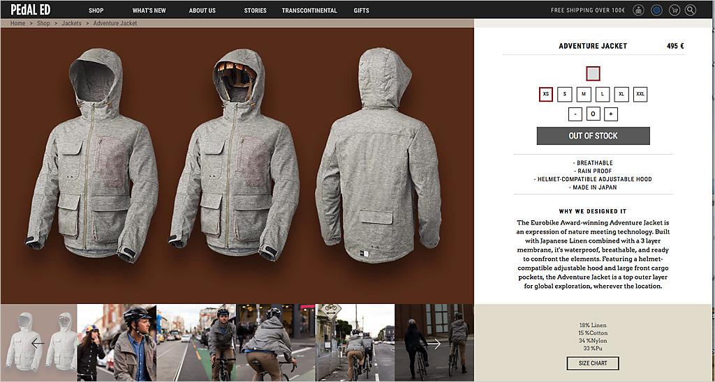 Fahrradbekleidung mit Sinn und Stil: Helmkapuze inklusive